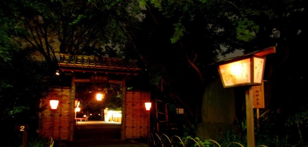 Moon viewing at Mukojima Hyakkaen, Tokyo (article by amuzen)