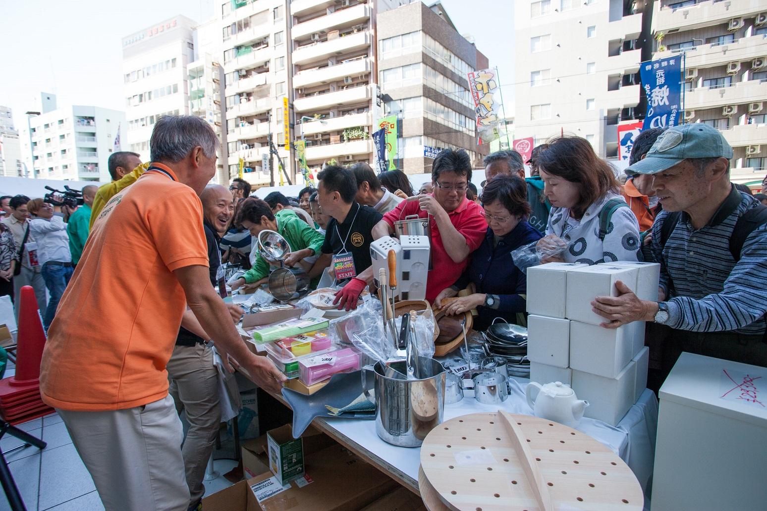 kappabashi dogu festival