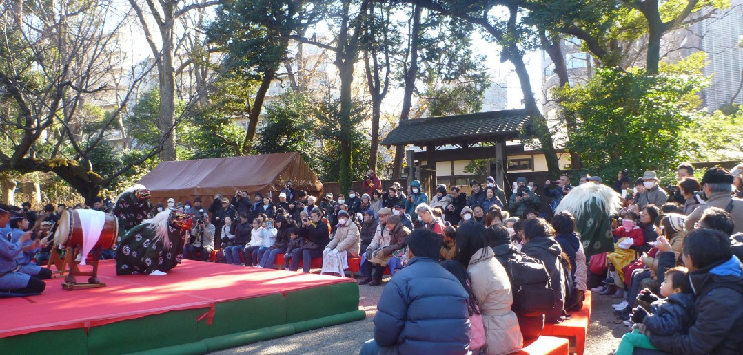 Rikugien New Year 2016 © Tokyo Metropolitan Park Association (article by amuzen)
