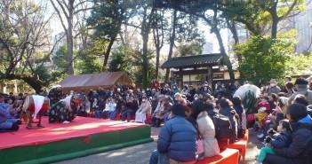 Rikugien New Year 2016 © Tokyo Metropolitan Park Association (article by amuzen)