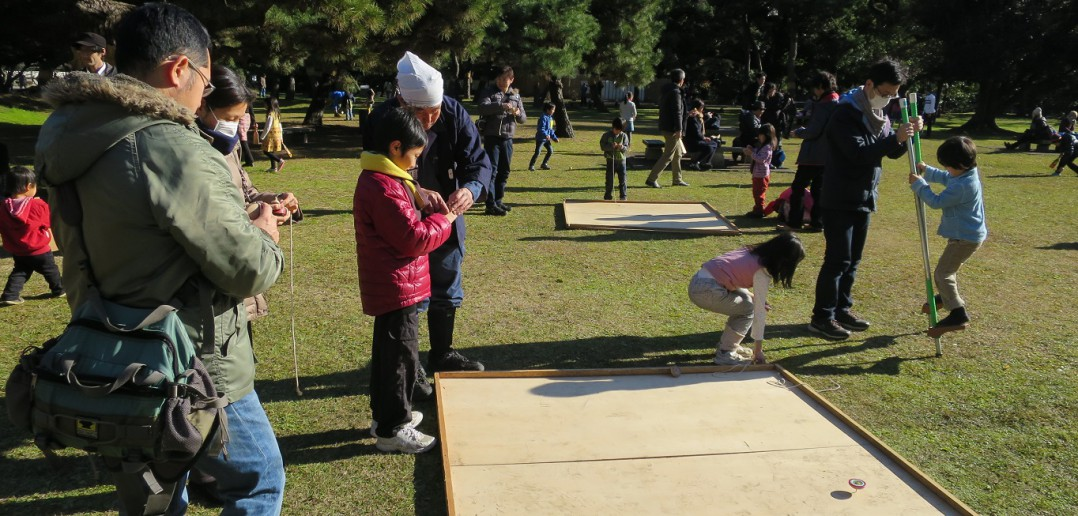 New Year 2016 at Hama-rikyu Garden © Tokyo Metropolitan Park Association(article by amuzen)