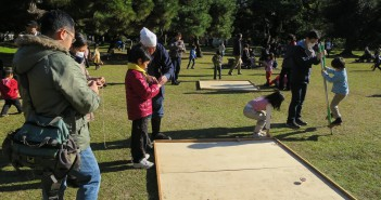 New Year 2016 at Hama-rikyu Garden © Tokyo Metropolitan Park Association(article by amuzen)