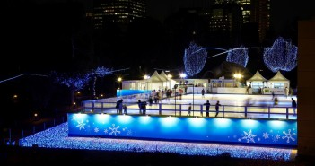 Mitsui Fudosan Ice Rink in Tokyo Midtown 2016 (article by amuzen)