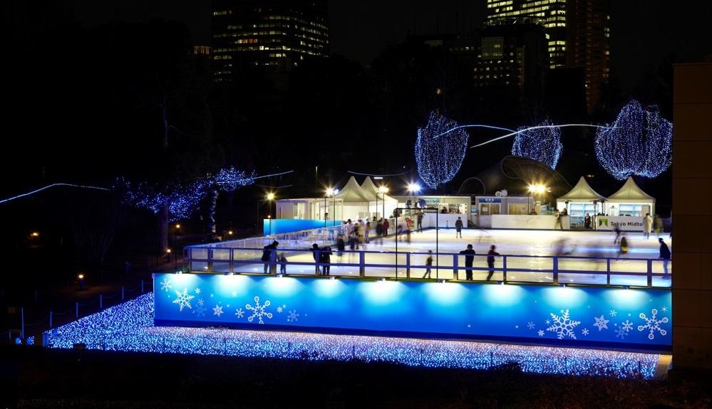 Mitsui Fudosan Ice Rink in Tokyo Midtown 2016