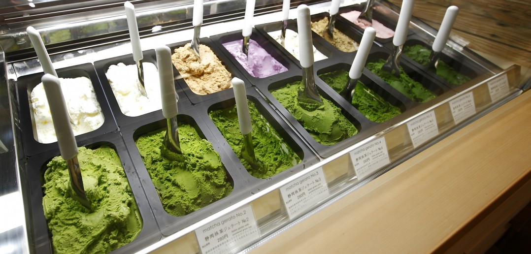 Suzukien & Nanaya Matcha Gelato Shop (article by amuzen)