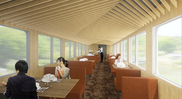 "Seibu Railway gourmet train ""52 Seats of Bliss"" (article by amuzen)"