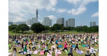 Yogafest Yokohama 2016 3-day immersion in yoga (amuzen article)