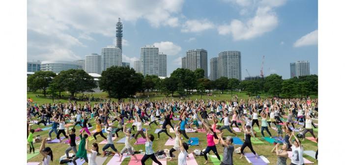 Yogafest Yokohama 2016 3-day immersion in yoga (amuzen article)