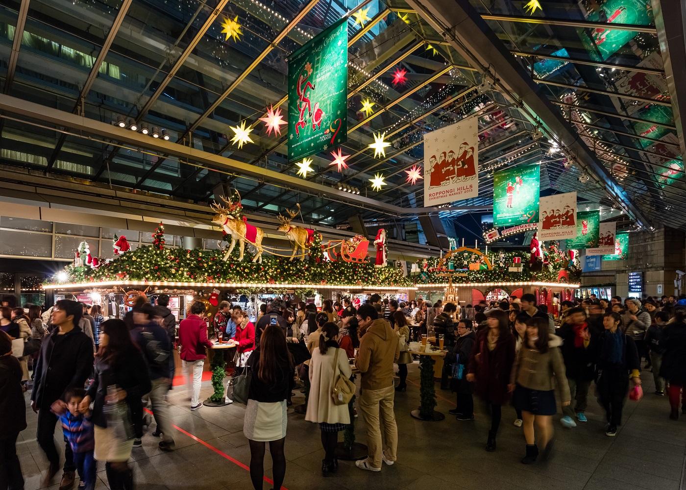 hills christmas 2016 market