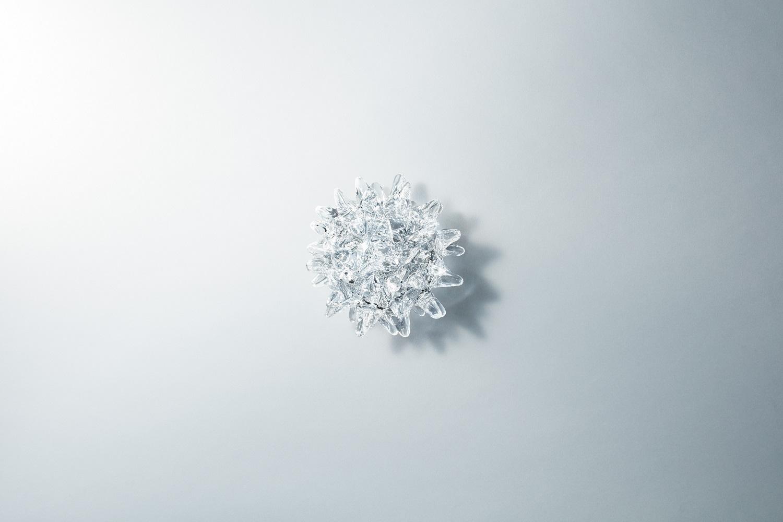 """Vessel of genetic code"" Mika Aoki 2016 glass"