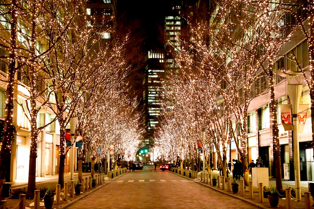 Marunouchi Illumination (image from the past)