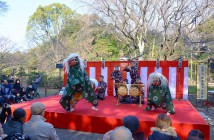 New Year Celebration 2020 at Rikugi-en