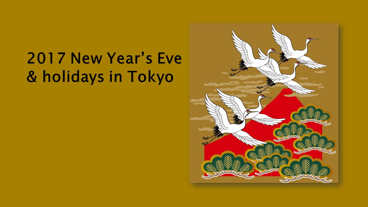 New Year's Eve & holidays in tokyo