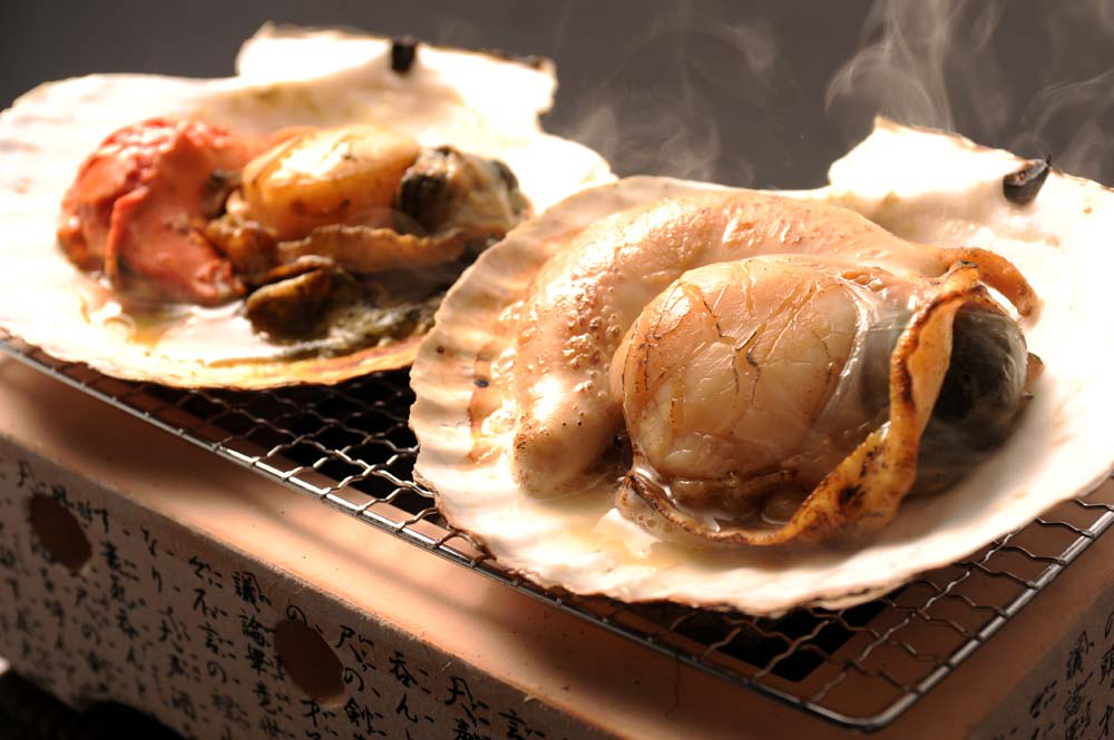 Furusato Festival in TokyoGrilled scallops
