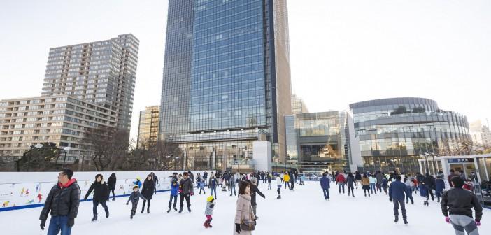 Tokyo Midtown's Ice Rink 2020-2021