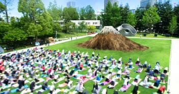 Mid-Park Yoga (April-May 2017) (amuzen article)