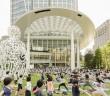 "Toranomon Hills Yoga (spring 2017) ""OUR PARKS SPRING 'TORANOMON HILLS YOGA' "" (amuzen article)"