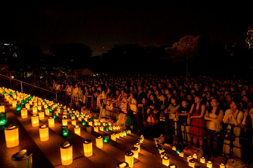 candle light zojo-ji 2017