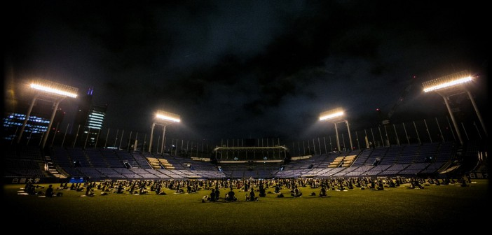 JINGU STADIUM NIGHT YOGA 2017 (amuzen article)