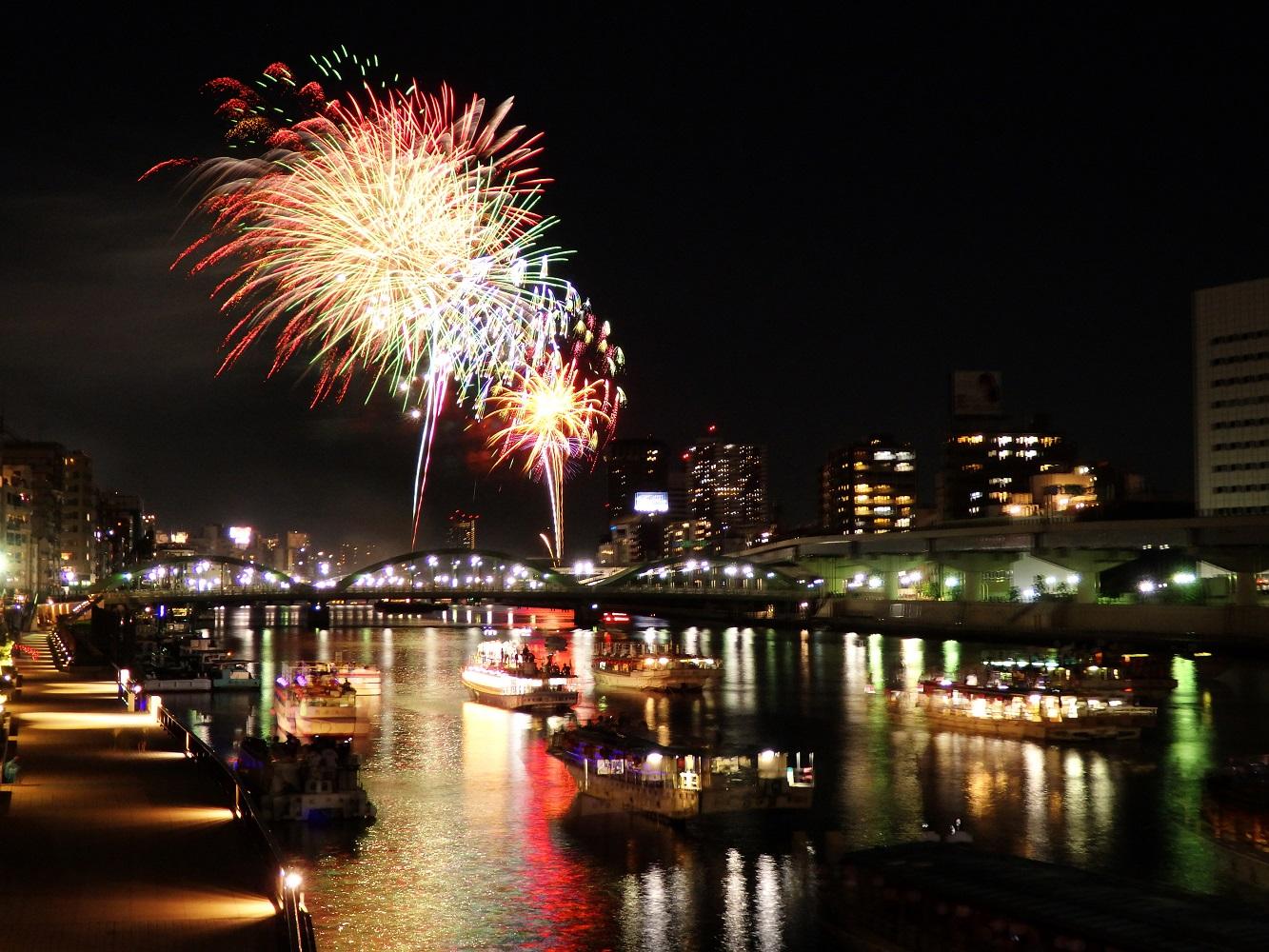 40th Sumida River Fireworks Festival 2017 (amuzen article)