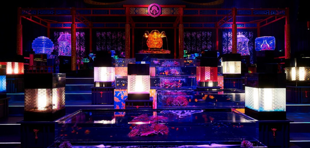 ECO EDO Nihonbashi Art Aquarium 2017 (amuzen article)