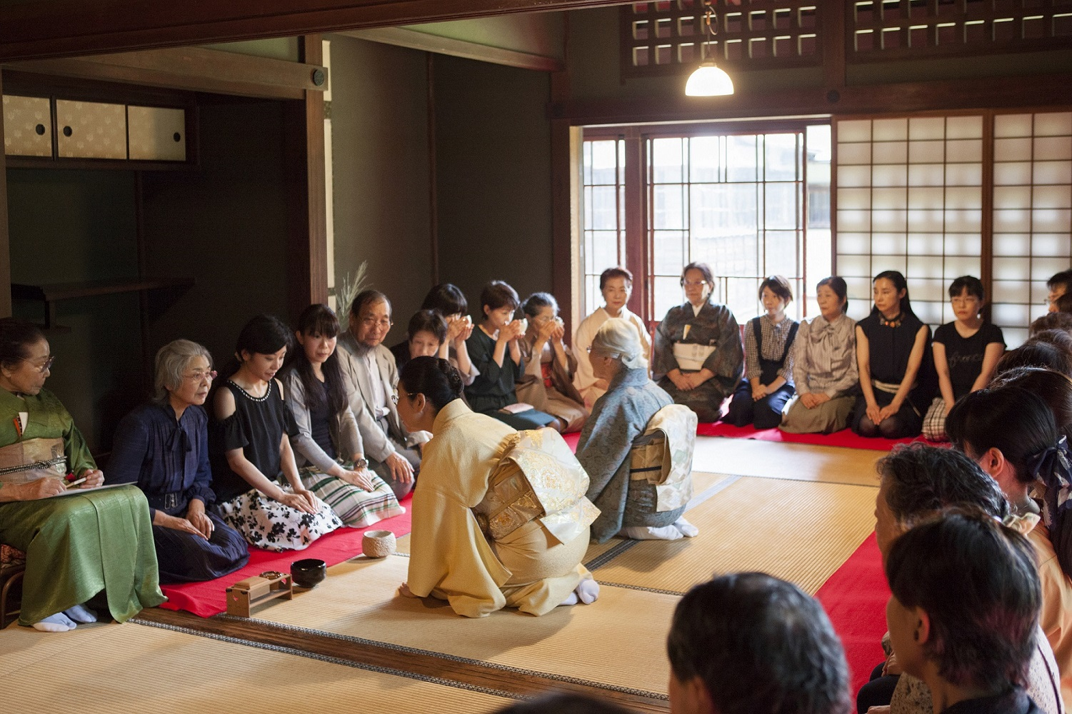 Tea ceremony at the museum