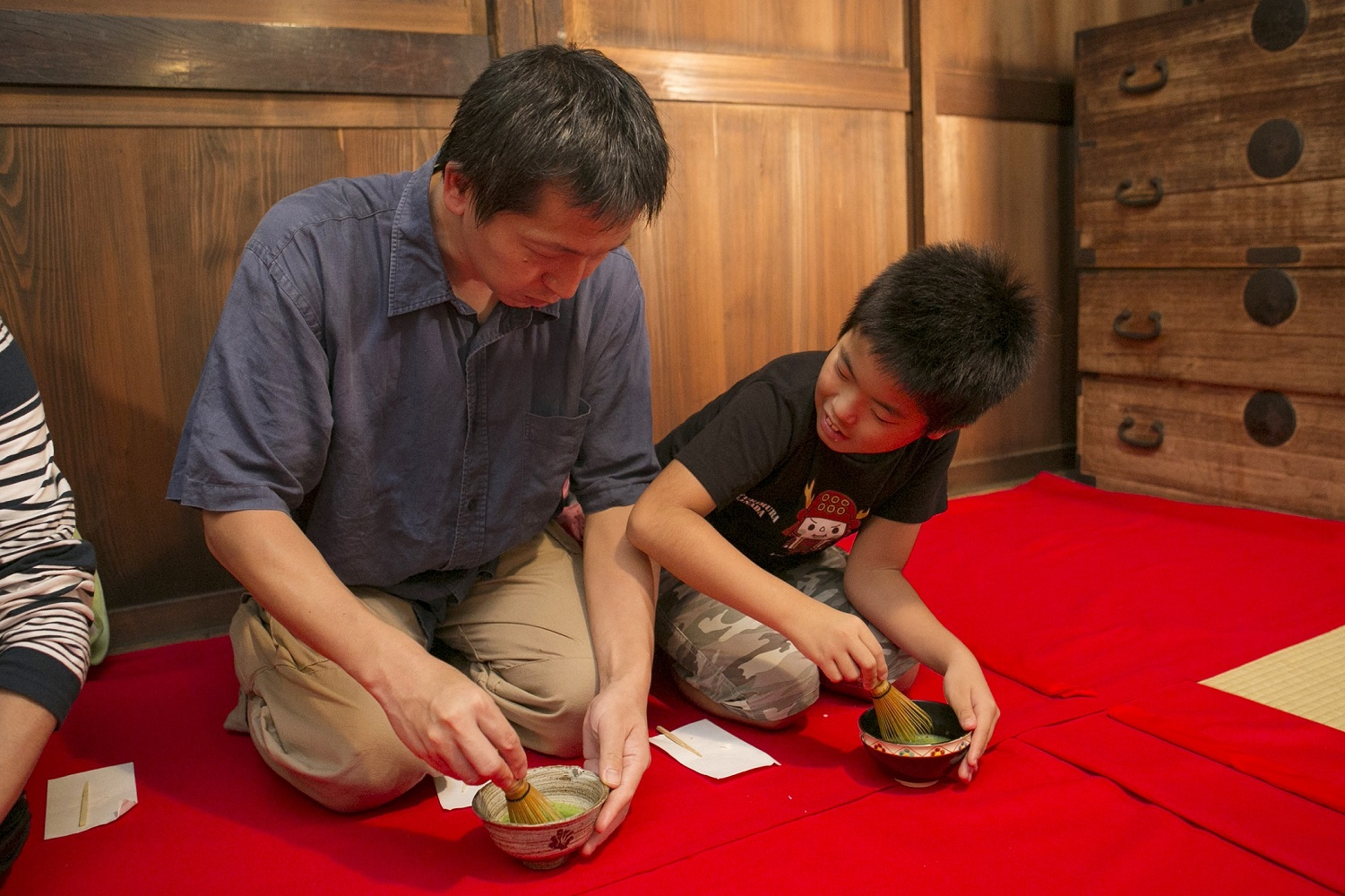 Tea ceremony for first-timers at the museum