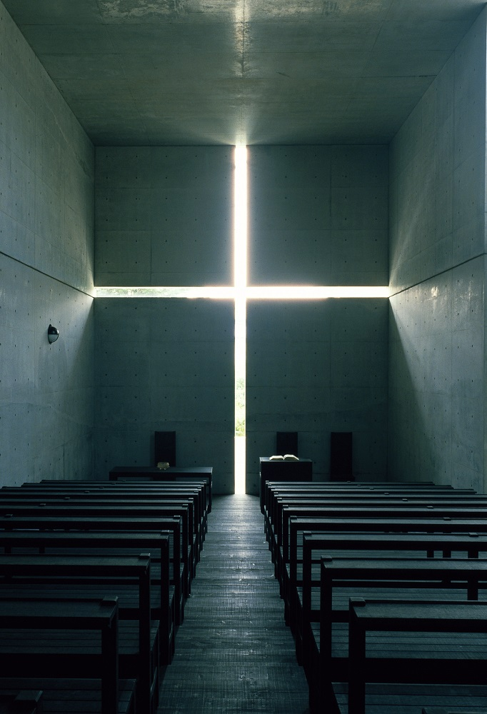 Church of the Light, Ibaraki, Osaka, 1989 © Mistuo Matsuoka