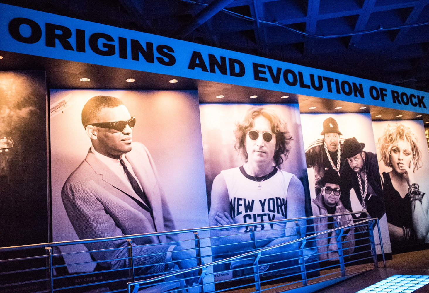 Reference image: Main lower entrance, Rock and Roll Hall of Fame Japan