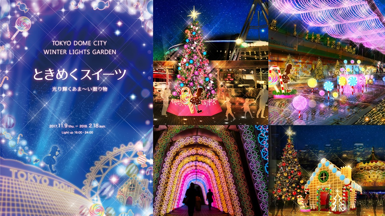 Tokyo Dome City Winter Lights Garden (amuzen article)