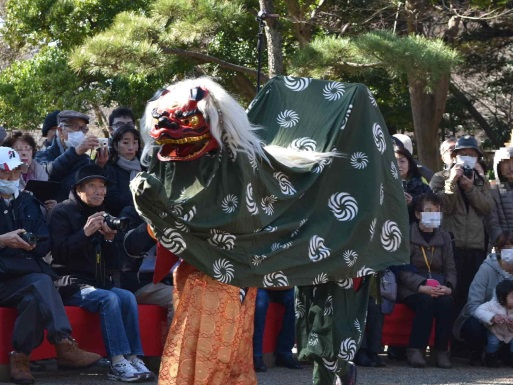 2018 New Year celebration at Koishikawa Korakuen (amuzen article)