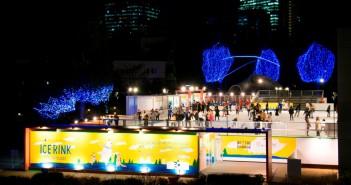 "amuzen ""Ice skating at Tokyo Midtown 2018 (Mitsui Fudosan Ice Rink for TOKYO 2020)"""