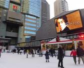 White Sacas ice skating rink