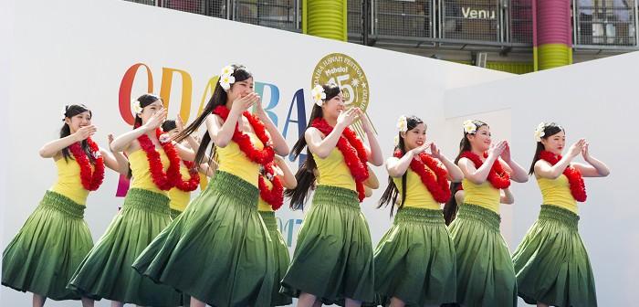 "amuzen ""Odaiba Hawaii Festival 2018"""