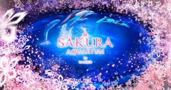 "amuzen ""Sakura aquarium by NAKED 2018"""