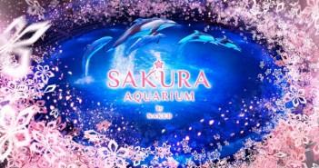 "amuzen ""Sakura aquarium by NAKED 2018"""