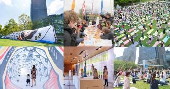 "amuzen ""2018 GW event at Tokyo Midtown Roppongi"""