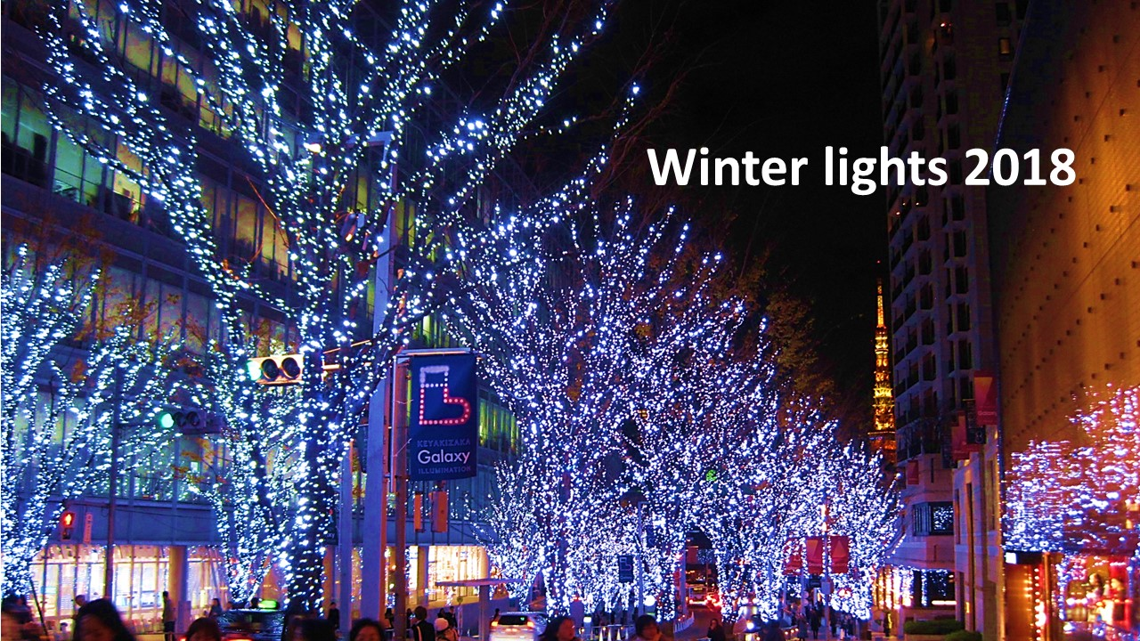 Guide to Christmas and winter lights in Tokyo 2018-2019