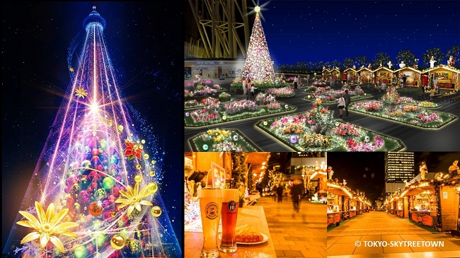 tokyo skytree twon christmas スカイツリータウン クリスマス full