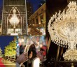 Baccarat chandelier and lights at Yebisu Garden Place