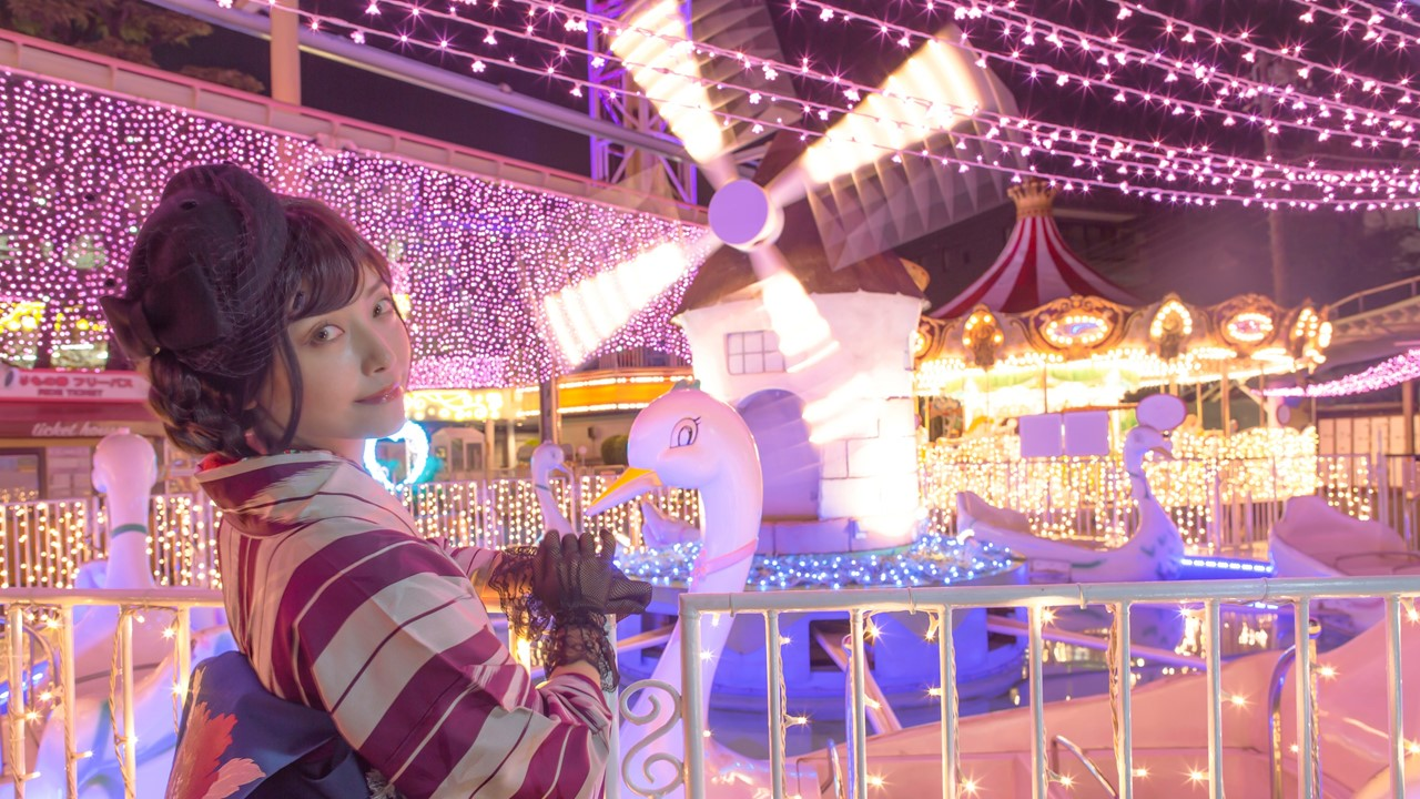 New Year's Eve at Asakusa Hanayashiki