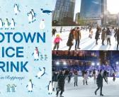 Tokyo Midtown's ice skating rink 2019