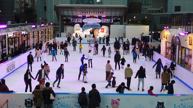 TBS White Sacas - ice rink at Akasaka Sacas 2018-2019
