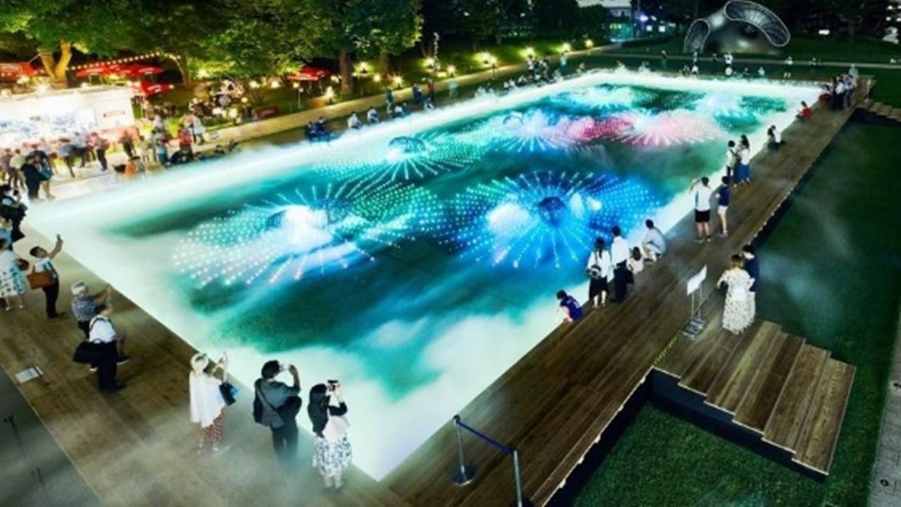 Digital Art Garden 2019 at Tokyo Midtown (Roppongi)