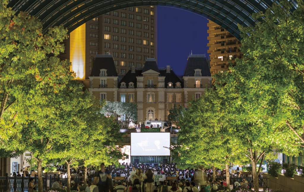 Picnic Cinema 2019 at Yebisu Garden Place