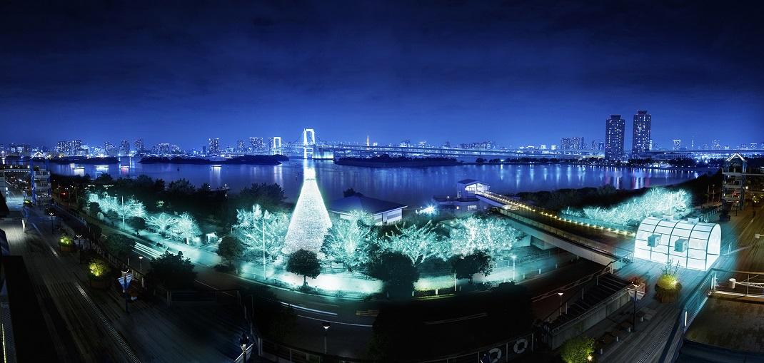 Illumination Island Odaiba 2019