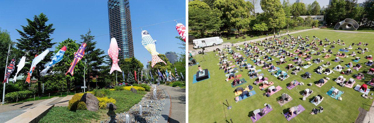 Mid-Park Yoga & Fit 2021 at Tokyo Midtown (Roppongi)